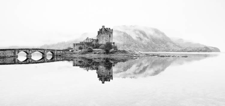 Dreich Morning at Eilean Donan Castle