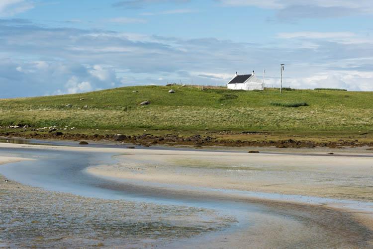Gearraidh Iain cottage at Ceann a Bhaigh